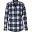 Royal Robbins Merinolux Plaid overhemd en blouse lange mouwen Dames blauw/wit
